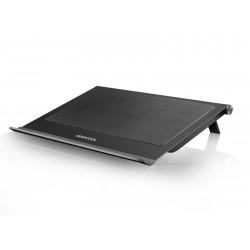 """Охлаждение для ноутбука до 17.3"""" DEEPCOOL N65 Black вентилятор 2x140мм"""