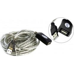 Кабель удлинительный USB2.0 AA 5м Aopen ACU823-5M активный