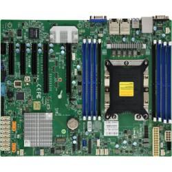 """Supermicro Motherboard 1xCPU X11SPI-TF Xeon Scalable TDP 205W/8xDIMM/10xSATA/C622 RAID 0/1/5/10/2x10GbE/2xPCIex16,2xPCIex8,1xPCIex4/ M.2 Interface:PCI-E 3.0x4 and SATA(12"""" x 9.6"""")"""