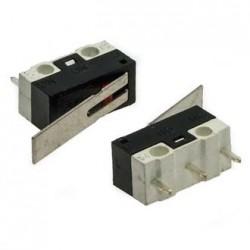 Микропереключатель (ON)-ON, SPDT, 12.8*5.8мм, AC 125в, 1а, рычаг, DM1-03P