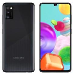 """Смартфон Samsung Galaxy A41 SM-A415F Черный 2sim/6.1""""/2400*1080/2х2ГГц+6*1.7/4Gb/64Gb/mSD/48+8+5МП/N"""