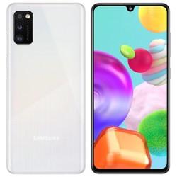 """Смартфон Samsung Galaxy A41 SM-A415F Белый 2sim/6.1""""/2400*1080/2х2ГГц+6*1.7/4Gb/64Gb/mSD/48+8+5МП/NF"""
