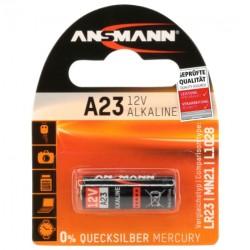 Батарейка 23A ANSMANN 1 шт./12В. щелочная