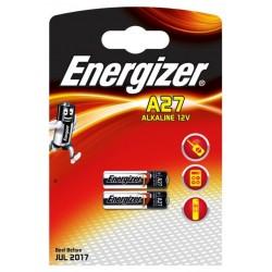 Батарейка 27A ENERGIZER 2 шт./12В. щелочная