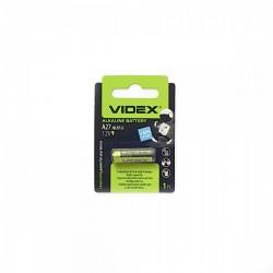 Батарейка 27A VIDEX 1 шт./12В. щелочная