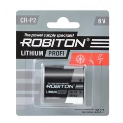 Батарейка CR-P2 ROBITON 1 шт./6В. литиевая