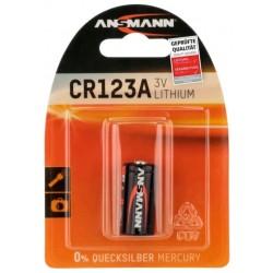 Батарейка CR123 ANSMANN 1 шт./3В. литиевая