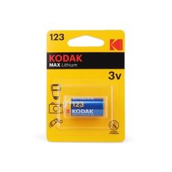 Батарейка CR123 KODAK 1 шт./3В. литиевая