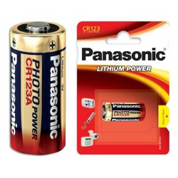 Батарейка CR123 PANASONIC 1 шт./3В. литиевая