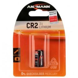Батарейка CR2 ANSMANN 1 шт./3В. литиевая
