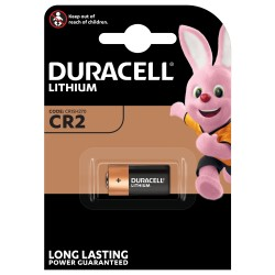 Батарейка CR2 DURACELL 1 шт./3В. литиевая