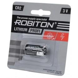 Батарейка CR2 ROBITON 1 шт./3В. литиевая