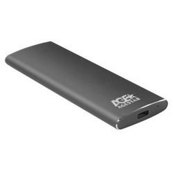 Внешний бокс для SSD M2 NGFF USB 3.0 AgeStar 3UBNF2C, серый, алюминий