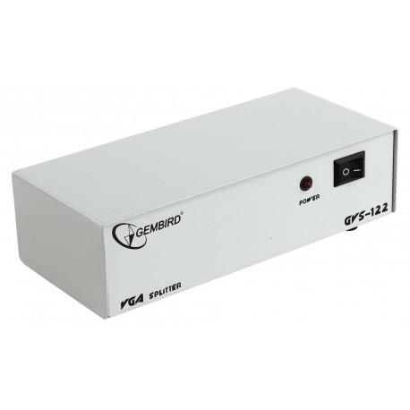 Разветвитель VGA 1 ПК-2 монитора Gembird GVS122