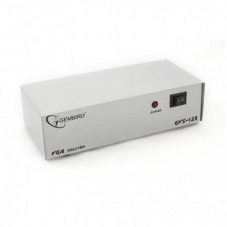 Разветвитель VGA 1 ПК-8 мониторов Gembird GVS128