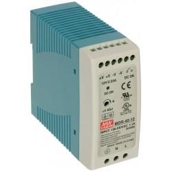 Блок питания Mean Well MDR-40-5/5в, 6А, DIN-рейка