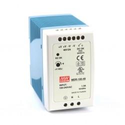 Блок питания Mean Well MDR-100-48/48в, 2А, DIN-рейка