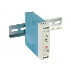 Блок питания Mean Well MDR-20-5/5в, 3А, DIN-рейка