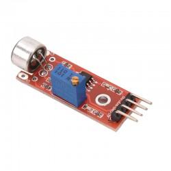 Модуль звука с микрофоном на LM393 для AVR PIC, DC 4-6В (3pin)