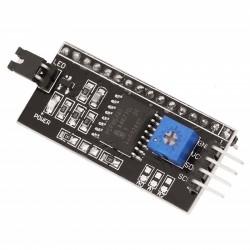 Модуль интерфейсный IIC/I2C/TWI/SPI для ЖК-дисплея 1602