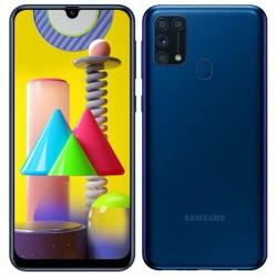 """Смартфон Samsung Galaxy M31 SM-M315F Синий 2sim/6.4""""/2340*1080/4х2.3ГГц+4*1.7/6Gb/128Gb/mSD/64+8++5М"""