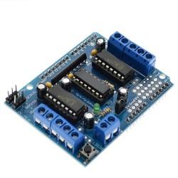 Шилд UNO L293D (4 двигателя DC или 2 серво-шаговые) для Arduino