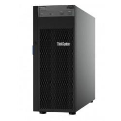 Lenovo TCH ThinkSystem ST250,Xeon E-2124 4C(3.3GHz/8MB/71W),1x16GB/2666/UDIMM,O/B,no HDD LFF(upto4),SW RAID,1x550W(upto 2),2.8m p/c,XCC Standard,DVD-RW
