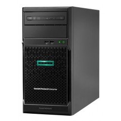 ProLiant ML30 Gen10 E-2234 Hot Plug Tower(4U)/Xeon4C 3.6GHz(8MB)/1x16GB2UD_2666/S100i(ZM/RAID 0/1/10/5)/noHDD(4)LFF/noDVD/iLOstd(no port)/1NHPFan/PCIfan-baffle/2x1GbEth/1x350W(NHP)