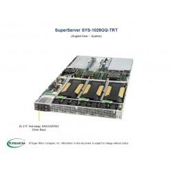 Supermicro SuperServer 1U 1029GQ-TRT noCPU(2)Scalable/TDP 70-165W/ no DIMM(12)/ SATARAID HDD(2)SFF/ 2x10GbE/ 4xFH, 2xLP, M2/ 2x2000W