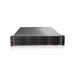 """Lenovo TCH ThinkSystem SR590 Rack 2U,1xXeon 4210 10C (2.2GHz/13MB/85W), 16GB/2666MHz/2Rx8/1,2V RDIMM, 3x 600GB 10K SAS HDD 2,5""""(upto 8/16), 930-8i (2GB Flash), 2xGbE, 2x750W, 2xP/C, XCC Enterpr"""