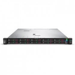Proliant DL360 Gen10 Silver 4210R Rack(1U)/Xeon10C 2.4GHz(13.75MB)/1x16GbR2D_2933/P408i-aFBWC(2Gb/RAID 0/1/10/5/50/6/60)/noHDD(8/10+1up)SFF/noDVD/iLOstd/4x1GbEthFLR/EasyRK/1x500wPlat(2up)