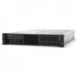 Proliant DL380 Gen10 Gold 5220 Rack(2U)/Xeon18C 2.2GHz(24.75MB)/1x32GbR2D_2933/P408i-aFBWC(2Gb/RAID 0/1/10/5/50/6/60)/noHDD(8/24+6up)SFF/noDVD/iLOstd/2x10/25Gb640FLR-SFP/EasyRK+CMA/1x800wPlat(2up)