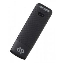 Модем Digma Dongle USB Wi-Fi Firewall +Router 4G/3G черный