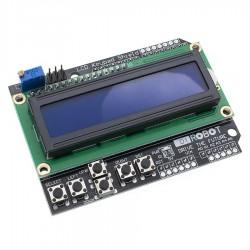 ЖК индикатор LCD1602 с кнопками