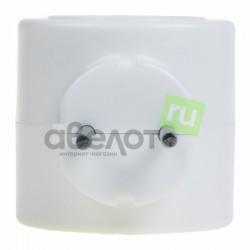 Тройник электрический биметалл 220 В 6 А белый REXANT