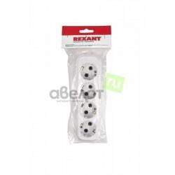 Колодка электрическая REXANT /4х220в с заземления