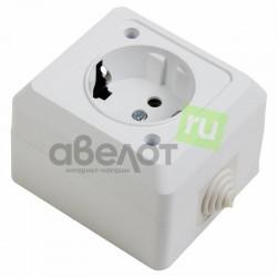 Розетка электрическая штепсельная Proconnect 78-0515/16 А IP44 с/з