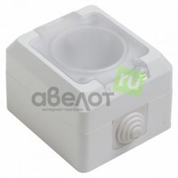 Розетка электрическая штепсельная Proconnect 78-0516/10 А IP44 с/з  с крышкой