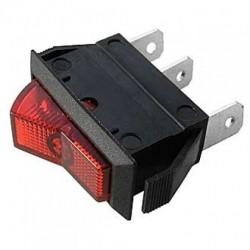 Переключатель ASW-09D /ON-OFF красная подсветка