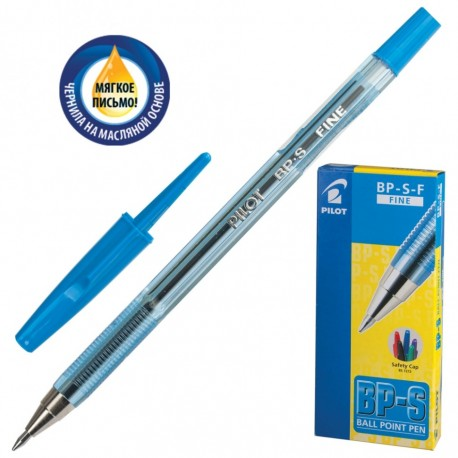 Ручка шариковая PILOT BP-SF-L 0,7мм, синяя (028642)