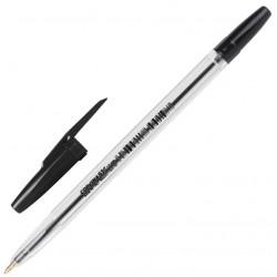Ручка шариковая Cоrvina 51 чёрная 1мм (40163/01)