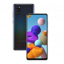 "Смартфон Samsung Galaxy A21s 64GB SM-A217F Черный 2sim/6.5""/1600*720/8х2ГГц/4Gb/64Gb/mSD/48+8+2+2Мп/"
