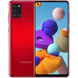 """Смартфон Samsung Galaxy A21s 32GB SM-A217F Красный 2sim/6.5""""/1600*720/8х2ГГц/3Gb/32Gb/mSD/48+8+2+2Мп"""