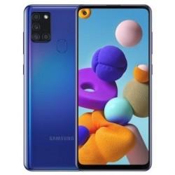 """Смартфон Samsung Galaxy A21s 64GB SM-A217F Синий 2sim/6.5""""/1600*720/8х2ГГц/4Gb/64Gb/mSD/48+8+2+2Мп/N"""