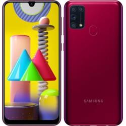 "Смартфон Samsung Galaxy M31 SM-M315F Красный 2sim/6.4""/2340*1080/4х2.3ГГц+4*1.7/6Gb/128Gb/mSD/64+8+5"