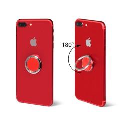 Кольцо-держатель для смартфона DF Ring-01 (red)