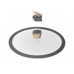 Крышка NADOBA MINERALICA (751211) 28см,с силиконовым ободом