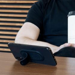 Подставка/автодержатель Click Holder для смартфона, силикон, серый, Deppa