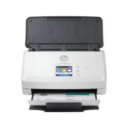 HP ScanJet Pro N4000 snw1 (CIS, A4, 600 dpi, Ethernet 10/100Base-TX, USB 3.0, Wi-Fi, ADF 50 sheets, Duplex, 40 ppm/80 ipm, 1y warr)