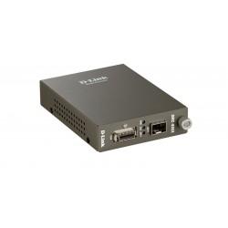 Медиаконвертер D-Link DMC-805X преобразует сигнал из стандарта 10G CX4 на сигнал 10G SFP+